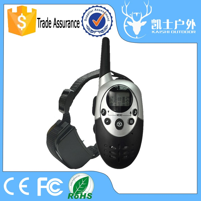 Hot One To Two Dogs Controlling Rechargeable Waterproof Good Dog Trainer With Remote