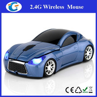 Custom Laptop Mouse Car Shape Wireless Optical Mouse For Macbook