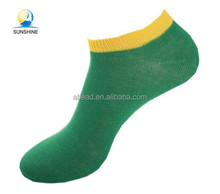 Pure Color Jacquard Four Seasons Casual Garlic Colors Ankle Sock Men Cotton Sock Wholesale