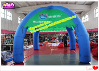 4 legs Promotional spider inflatable tent/event cross tent A116