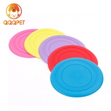 Factory supply cheap price pet collapsible durable circle frisbee toys