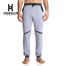Factory Custom Running Sweatpants Plus Size Baseball Polyester Track Patchwork Harem Pants for Men In China