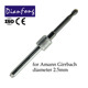 2.5mm Amann Girrbach dental CAD/CAM carbide milling bur for machining dental zirconia / PMMA block