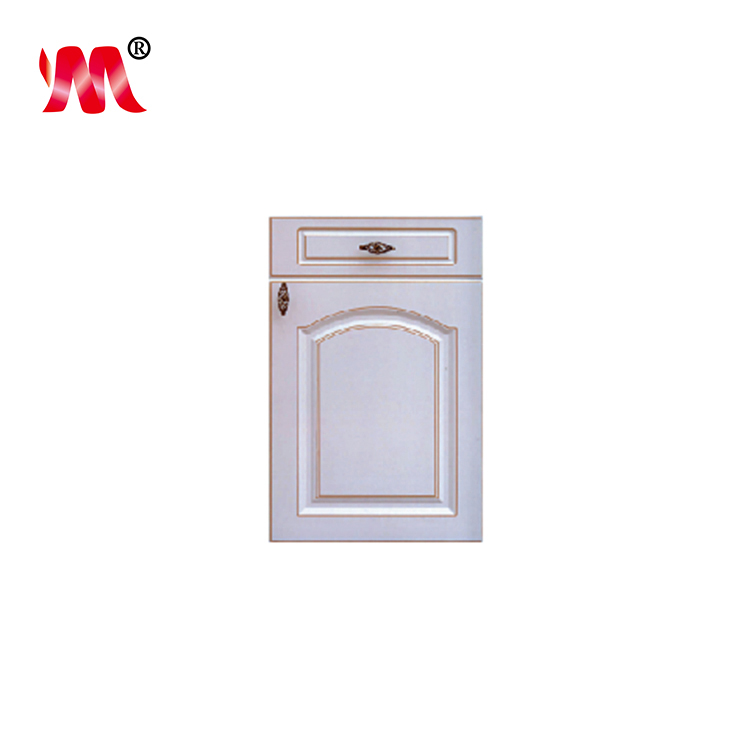OEM/ODM white PVC membrane kitchen cupboard doors covers
