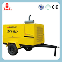hot selling LGCY-6/7 diesel portable screw Air Compressor