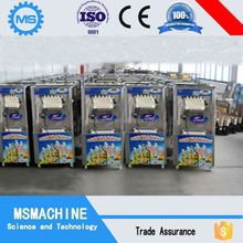 Easy and simple to operate hot sale floor spraying soft serve ice cream
