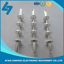CNC machining Communication equipment aluminum silvering accessories