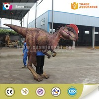 Handmade animatronic high quality custom dinosaur costume