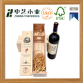 FSC High quality best seller single bottle wine box