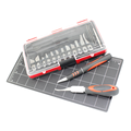 Deluxe Hobby Knife Kit Carving Knives Woodworking Tools Set Multifunction Set