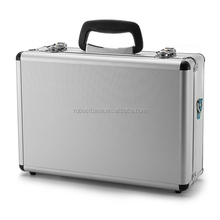 Ninbo Factory Silver Aluminum Hard Drone Case with foam padding