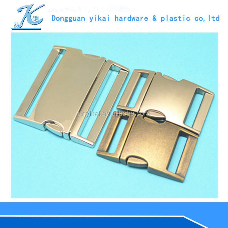 Excellent quality metal clasp for bag,13mm curved style buckle,metal buckles for backpack