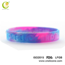 2017 unisex epoxy embossed full color silicone wristbands,one direction silicone bracelets for gifts