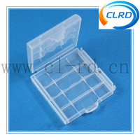 Free shipping 1000pcs AA/AAA battery plastic storeage case