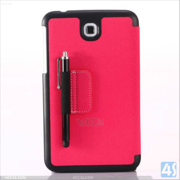 Folio PU Leather Case Cover for Samsung Galaxy Tab 3 7.0 P3200 P3210 / Accessory P-SAMP3200CASE025