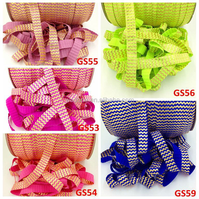 2pcs Cardboard Custom Knot Hair Ties Custom Fold Over Elastic Hair Band Pony Tail Holder Bracelet