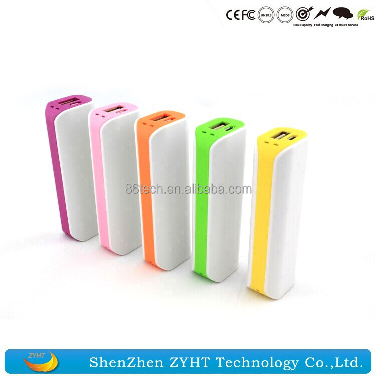 Slim USB Power Charger for HP Power Bank 2600mAh Cheap High Quality Power Supply Charger Baby Wholesales Bulk