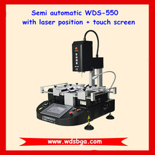 New design 110V/220V Hot air & infrared cheap bga rework station WDS-550 with laser position and working light