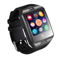 NFC Bluetooth Smart Watch Q18 With Camera facebook Sync SMS MP3 Smartwatch Support Sim TF For IOS Android Phone