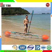 HOT SALE 2016 New Transparent Boat Plastic Sightseeing Boat sale