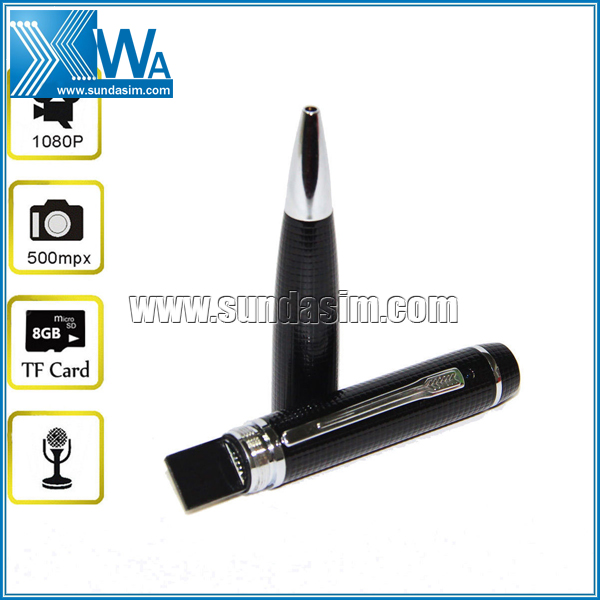 Pen Camera 1080P Hidden Camcorder DVR Video Recorder