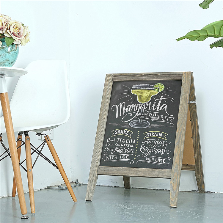 30 inches menu or memo chalkboard for bar or restaurant
