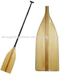 good sale wooden canoe paddles