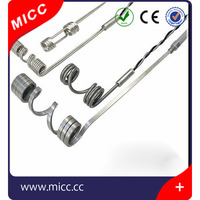 Hot Runner Coil and Cable Heaters with thermocouple