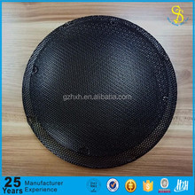 Customed made perforated metal speaker cover, metal speaker grille cover, sheet metal radiator cover