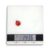 5kg LCD display tempered glass surface kitchen scale