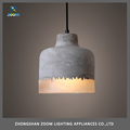 Fashion best price restaurant lighting concrete pendant light E27 40W