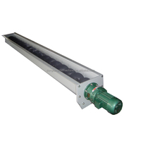 Screw Conveyor For Wood Chip Or