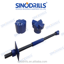 SINODRILLS R32N-21 Soil Nailing Support Self Drilling Anchor