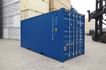 Brand new 20 feet high cube shipping containers for sale in shanghai
