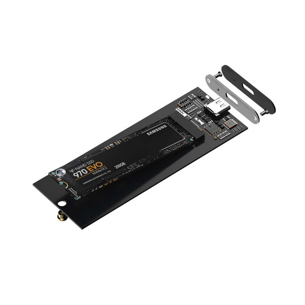 Metal super speed M.2 Type-C USB3.1 NVME SSD Drives Enclosure NGFF m.2 b m key mini nvme ssd ngff to pcie