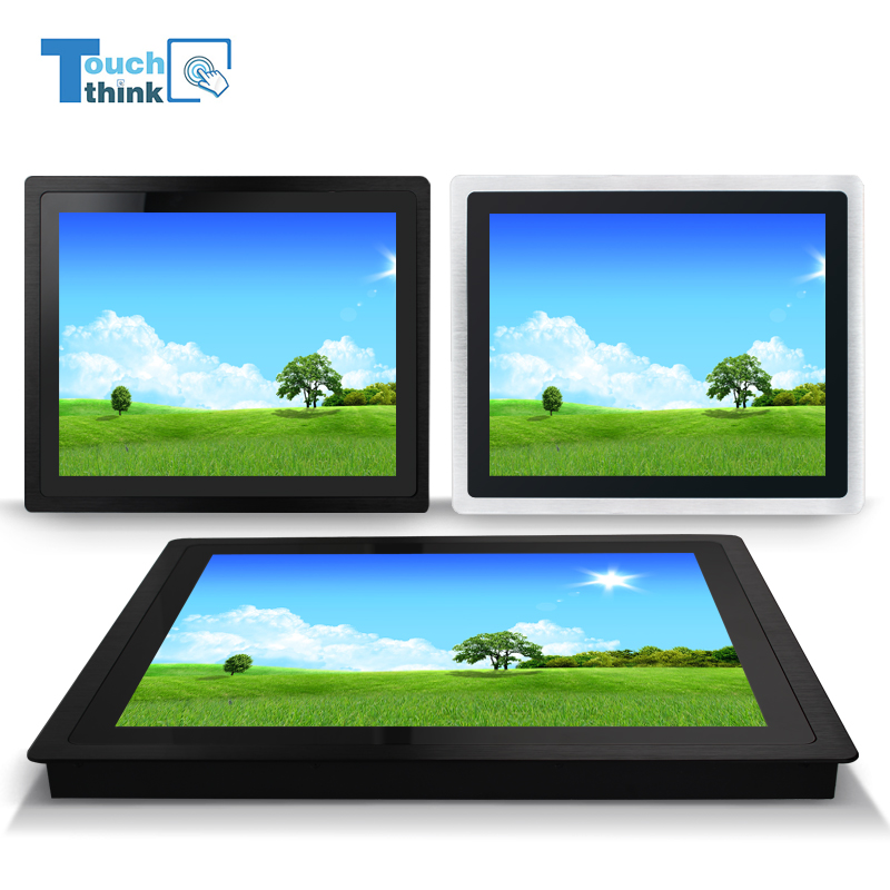 13.3 inch industrial rugged lcd touch screen computer monitor