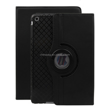 China Product Wholesale with external rope Designed 360 Degree Roation pu leather tablet cover for Apple iPad Air12
