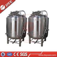 500L 1000L Stainless steel mobile tank, vertical stainless steel beer cans, wine makers poland