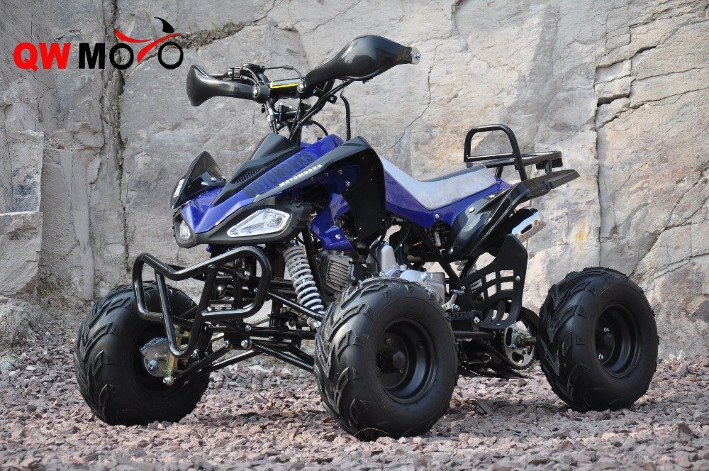 125cc Semi-automatic ATV Quad with reverse gear