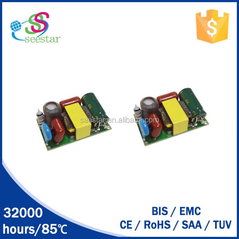 High Efficiency/hot selling 5x1w LED driver 220v AC 350ma constant current led