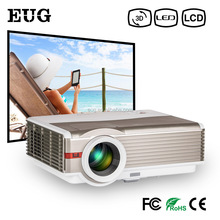 4200Lumens LED 3D 1080P Projector Home Theater Projector For Education Meeting Advertisement Smart Phone Tablet