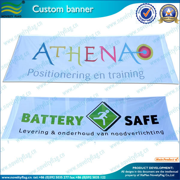 Digital Printing Outdoor Advertising Flags and Banners