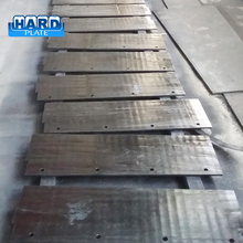 Fe-Cr-C hardfacing coating steel plates for manufactory