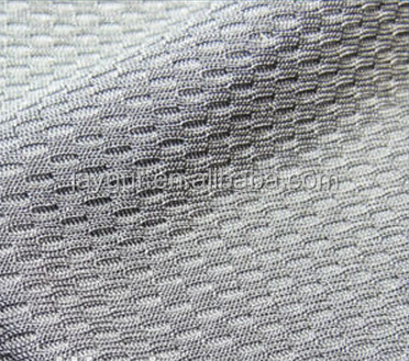 100% polyester honeycomb fabric for sportswear shoe's <strong>material</strong>