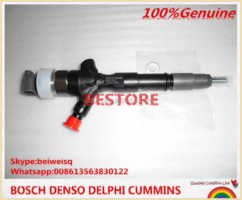 Denso common rail injector 095000-7780 095000-7781 Toyota 23670-09070 23670-39316 23670-39185