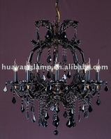 2013 high quality black Crystal Lamp
