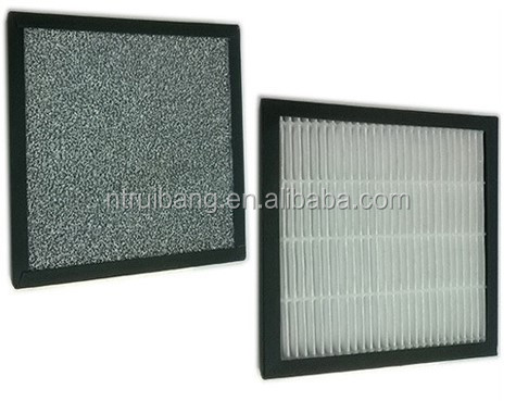 Compound Double Faced Air Filter for Room Air Purifier, Car, Desk Oxygen Bar