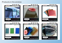 Doors and Windows are hidden frame curtain wall coating glass combination machine Color coated glass