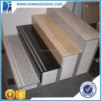 Natural stone anti slip granite stairs design