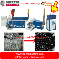 HDPE LDPE PP Garbage Bag , Film Two-stages Granulation Line